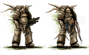 Plague Marine Variants by UltimaFatalis