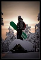 Snowboarder by Deemax