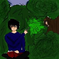 Tom Riddle in The Hunger Games by AwkwardToast