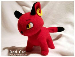 red cat by MagnaStorm