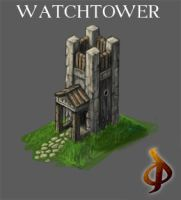 Watch-tower by Djekspek