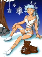 Snowflake Elf - Colored as Snow Queen by TraciBrooks