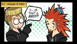 3.5 - Speaking of Spikey... by Oriana132