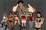 "Vector ""StuffPack3"" people by RussianPunx"