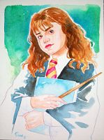 Hermione commission by jFury
