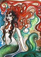 mermaid by plutonia