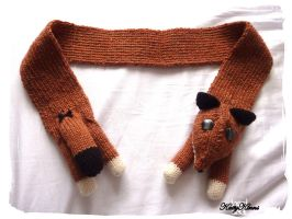 The Fantastic Mr. Fox Scarf by Cateaclysmic