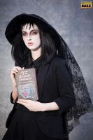 Lydia Deetz (One Big Dark Room) - Beetlejuice by Paper-Cube