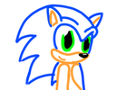 Sonic Lineart by ifreakinglovegames