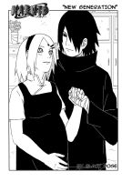 SasuSaku Waiting by byBlackRose
