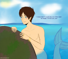 Oh, Levi -merman!eren- by ArehandoraM