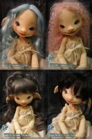 Willow wigs by TheMushroomPeddler