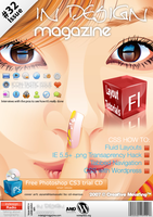 InDesign magazine cover by web-meister
