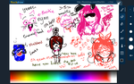 Flockdraw Doodles w/ Mari by ArtistMeReads