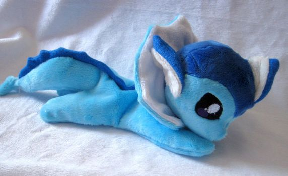 Vaporeon Beanie Baby by FollyLolly