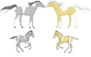 Horse Adoptables - Taken or on hold by ponylover101