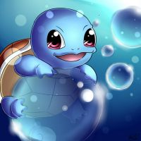 Squirtle by Lilcookie8