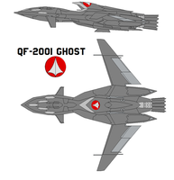 QF-2001 Ghost by bagera3005