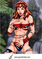 Savage Land Mary Jane by Mythical-Mommy