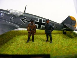 Messerschmitt Bf 109 E (Adolf Galland) (3) by Quenta-Silmarillion