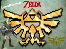 Triforce!!! by Lunabunneh