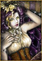Golden Widow by MissTrisi