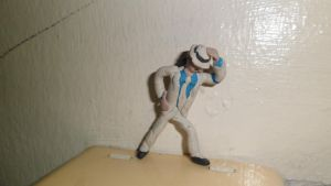 Michael Jackson Smooth Criminal on Clay!! by luisloh154