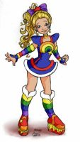 Rainbow Brite remake by solipherus