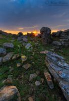 The Sunset Rocks by MorkelErasmus