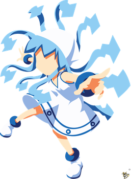 Squid Girl 2K17 Edition by halotroid09