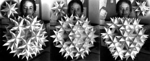 Koched great stellated dodecahedron by Hop41
