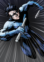 Completed: Nightwing by EvilFuzz