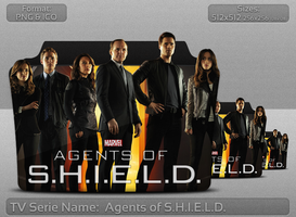 Agents of S.H.I.E.L.D - Tv Series Folder Icon by atty12