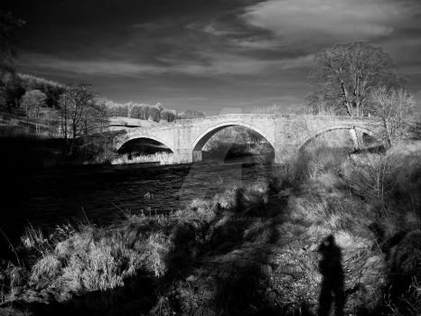 Me and My Infrared Shadow by GaryTaffinder