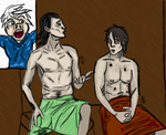 Loki And R Bonding And Frost by InvisibleCorpseGirl