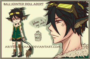 [CLOSED] BJD adopt #7 'Street Fighter' by Aritsune-chan