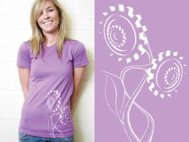 Flower-Powered Tee by bella-elizabetta