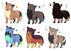 Adopts batch {CLOSED} 30points each by DreamerssKingdom