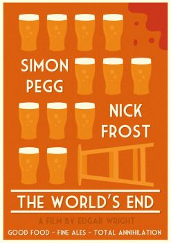 The World's End Poster by W0op-W0op