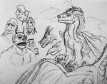 Ink'ed Dragons and Ogres by SquidHatJenkins
