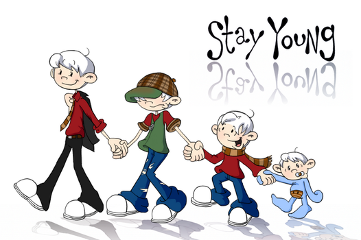 Stay Young -- Contest Entry by man5ray