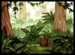 Iwi in the Jungle by DolphyDolphiana