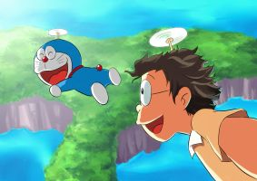 Doraemon by mushi23