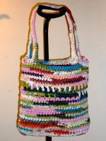 Multi color plarn bag by DigitalParanoia