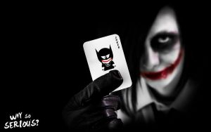 Why so serious II. by shadowiness