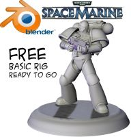 Free Blender Marine V1 by hattonslayden