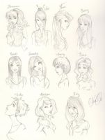Harry Potter Girls by Harry-Potter-FanClub