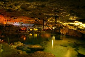 underground cave by Liquidflight