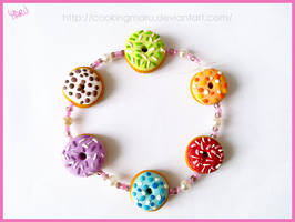 Donut Bracelet Version 2 by CookingMaru