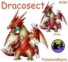 Dracosect 080 by PokemonMasta